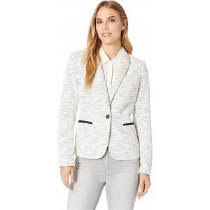 Sweatshirt Jacket Ivory/Black