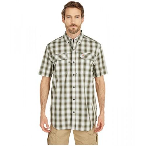 칼하트 TW258 Force Relaxed Fit Short Sleeve Plaid Shirt