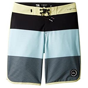 Highline Tijuana Scallop Boardshorts (Big Kids) Aquatic