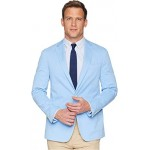 Garment Dyed Cotton Stretch Sportcoat Lagoon Blue