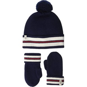Varsity Knit Hat and Mitt Gift Set (Toddler/Little Kids)