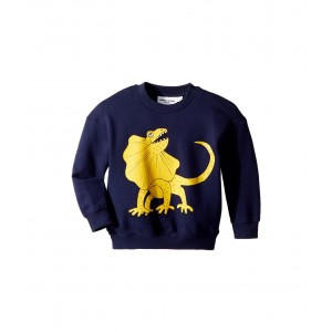 Draco Solid Print Sweatshirt (Infant/Toddler/Little Kids/Big Kids) Navy