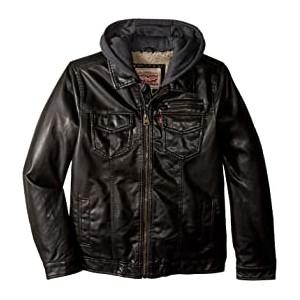Sherpa Moto Jacket (Big Kids)