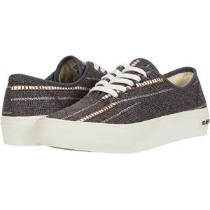 SeaVees Legend Sneaker Raffia Stripe Brown