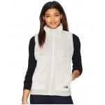 Furry Fleece Vest Vintage White
