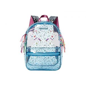 Starry Skies Unicorn Backpack Orchid Blue