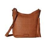 Gabriella Soft Weave Crossbody Collection Brown 1