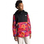 The North Face Printed Fanorak Mr. Pink New Dimensions Print/TNF Black