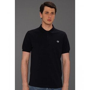 Slim Fit Solid Plain Polo