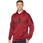 Team Issue Pullover Fleece Hoodie Noble Maroon Melange