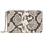 Spencer Python Embossed Chain Wallet
