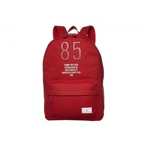 Hilfiger Canvas Backpack Tommy Red
