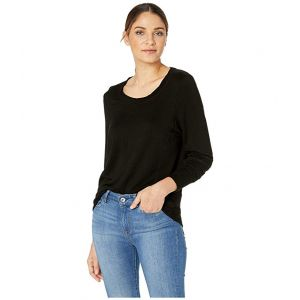 Jules Fight with Heart Open Back Pullover Black Sand