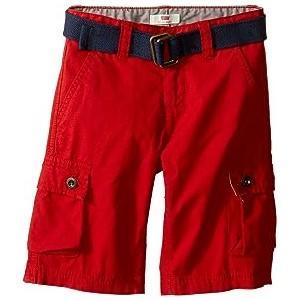 Westwood Cargo Shorts (Little Kids) Pompeian Red