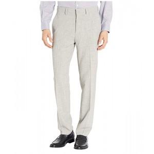 Stretch Flannel Slim Fit Flat Front Dress Pants