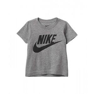 Nike Kids Short Sleeve Graphic T-Shirt (Toddler) Dark Grey Heather