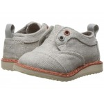 Brogue Dress (Infant/Toddler/Little Kid) Drizzle Grey Coated Linen