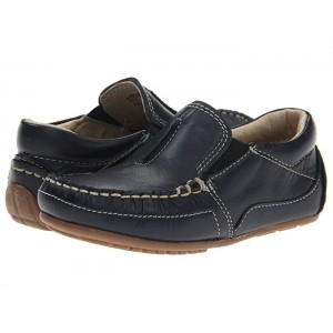 Colton (Toddler/Little Kid) Navy Leather