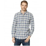 Boulder Ridge Long Sleeve Flannel Dark Mountain Mini Check