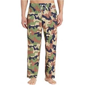 Regular Sleep Pants Army Green Camo