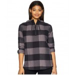 Stayside Pullover Shirt Rabbit Grey Large Bowden Plaid