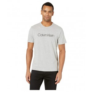 Short Sleeve Logo T-Shirt Grey Heather
