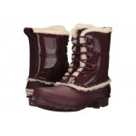 Original Patent Leather Lace-Up Shearling Lined Boot Dulse