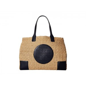 Ella Straw Tote Natural