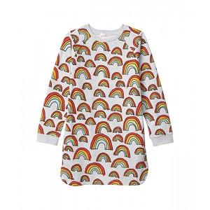 Scribble Rainbow Sweatshirt Dress (Toddler/Little Kids/Big Kids)