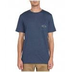 Volcom Import Pocket Short Sleeve Tee Navy