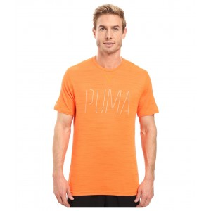 Nightcat Short Sleeve Tee Shocking Orange Heather