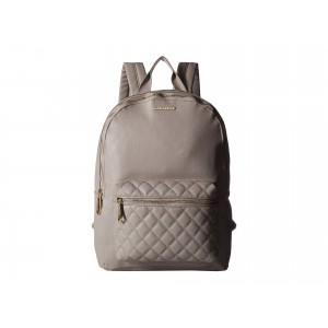 Quilted Pocket Backpack Concrete