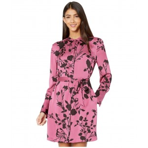 Short Roseabelle Dress Red Violet/Chocolate Plum