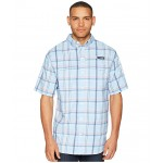 Super Low Drag Short Sleeve Shirt Sail Open Plaid