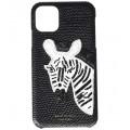 Beaded Zebra Phone Case for iPhone 11