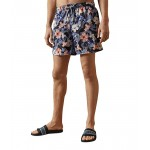 Ted Baker Inspect Floral Swim Shorts Blue