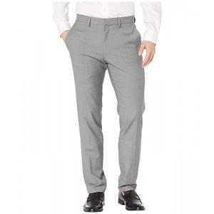 Stretch Textured Weave Slim Fit Dress Pants