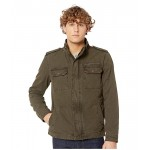 Levis Two-Pocket Military Jacket with Polytwill Lining Olive