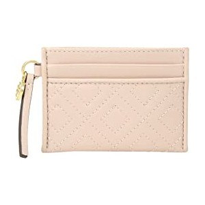 Fleming Slim Card Case Shell Pink