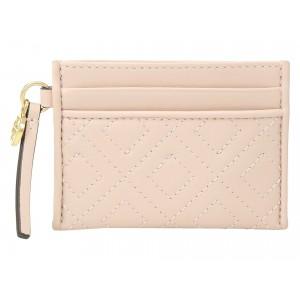 Fleming Slim Card Case Shell Pink