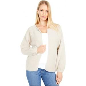 Soft Sweater Cardigan Mink