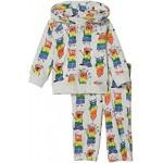 Baby Rainbow Monsters Zip-Up Sweatsuit Set (Infant)