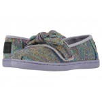 Alpargata (Infant/Toddler/Little Kid) Drizzle Grey Multi Glimmer Woven/Bow