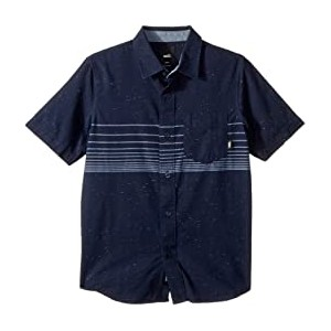 Gillis Woven Shirt (Big Kids) Dress Blues