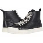 C214 Hi-Top Sneaker Black/White