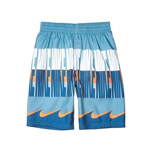 Nike Kids 8 Clash Breaker Volley Shorts (Little Kidsu002FBig Kids) Industrial Blue