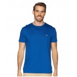 Lacoste Short Sleeve Pima Crew Neck T-Shirt Electric