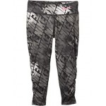 Nike Kids Dri-FIT Ruched Graphic Leggings (Little Kids) Black