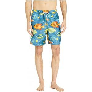 Color Fish Swim Shorts Classic Navy