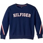 Fleece Crew Long Sleeve Sweatshirt (Big Kids)